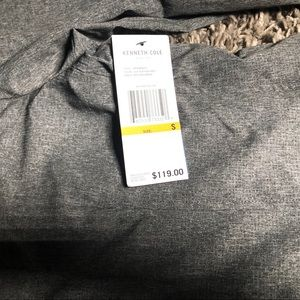 Kenneth Cole Suits & Blazers - Kenneth Cole Mens Mesh Tech Blazer Grey Size S